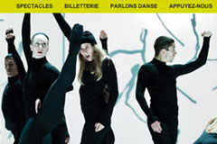 site web et newsletter Danse Danse